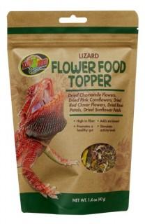 蜥蜴 天然花卉食物